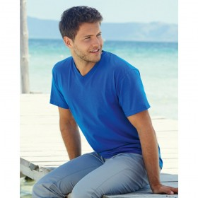 FRUIT of the LOOM VALUEWEIGHT V-NECK T