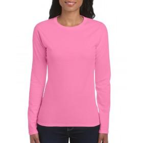 GILDAN Softstyle 64400L μακρυμάνικο γυναικείο μπλουζάκι