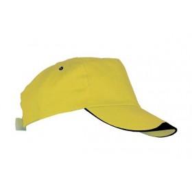 Καπέλο δίχρωμο πεντάφυλλο L826